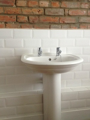 New basin installed in Hove