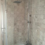 Bathroom and shower installation