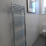 Large Chrome Towel Rail