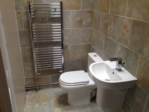 Small cloakroom j williams plumbing and heating