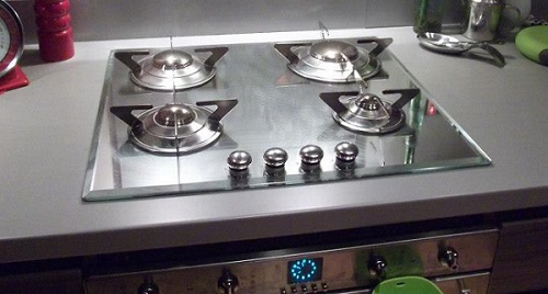 New gas cooker installation